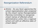 reorganization referendum6