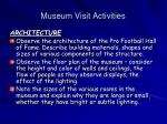 museum visit activities1