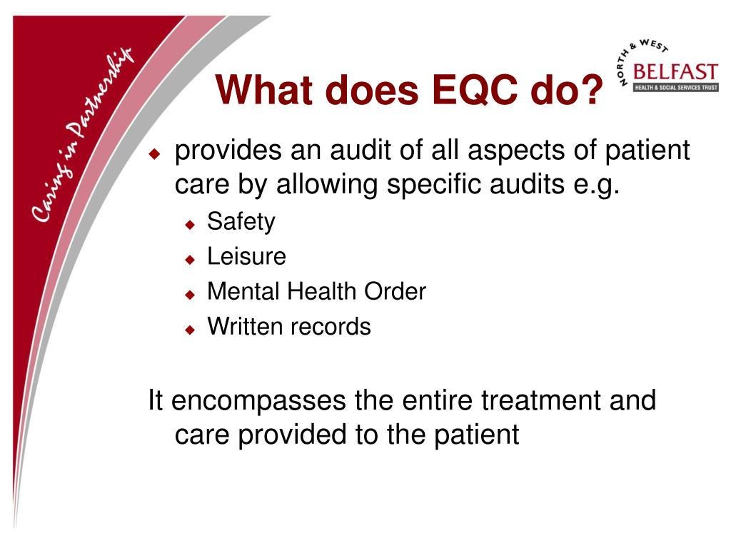 What does EQC do?