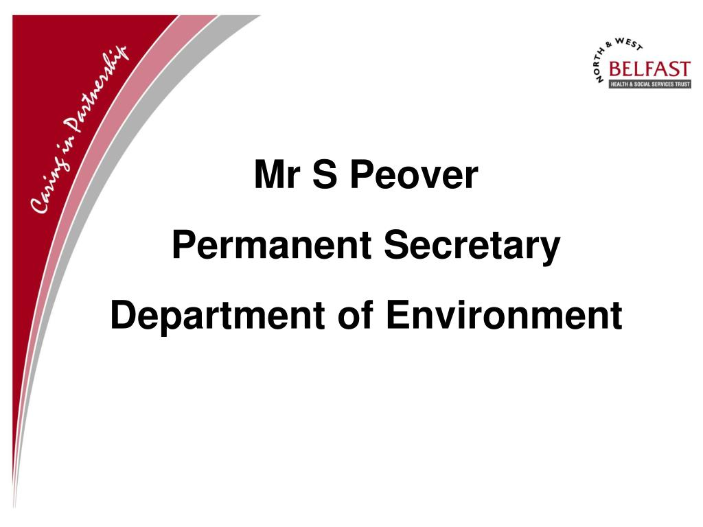 Mr S Peover