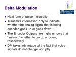 delta modulation3