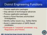 district engineering functions9