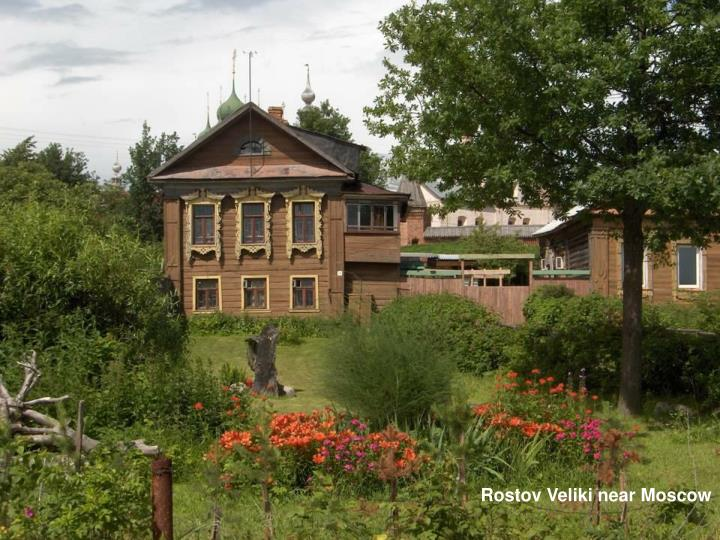 Rostov Veliki near Moscow