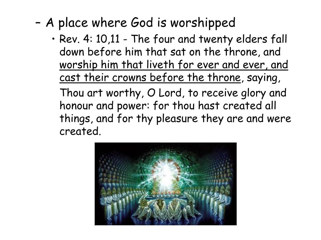 A place where God is worshipped