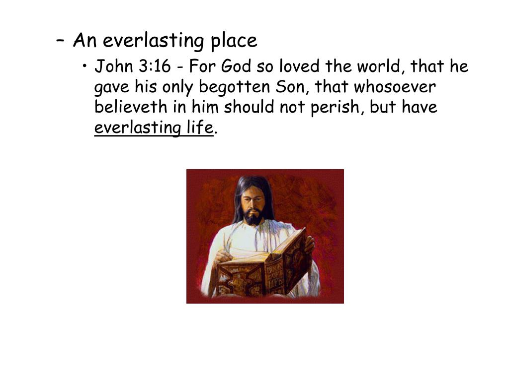 An everlasting place