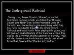 the underground railroad2