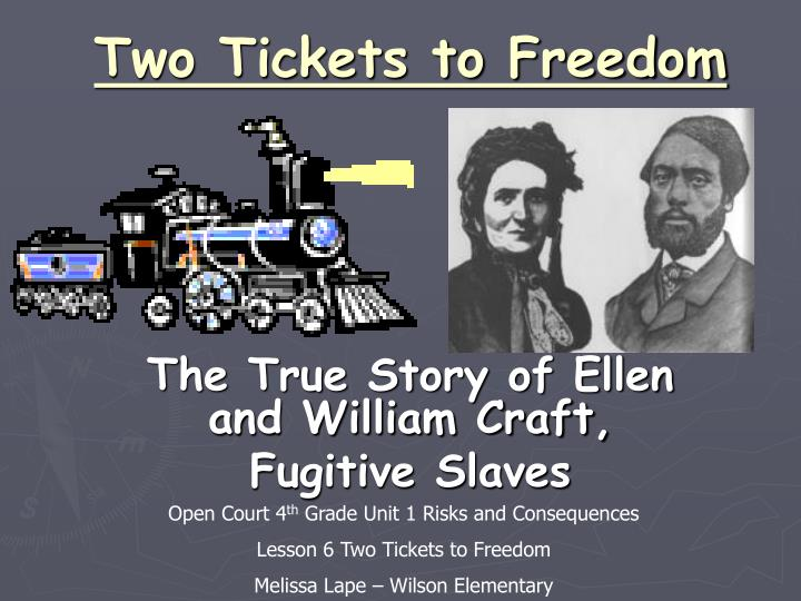 two tickets to freedom n.
