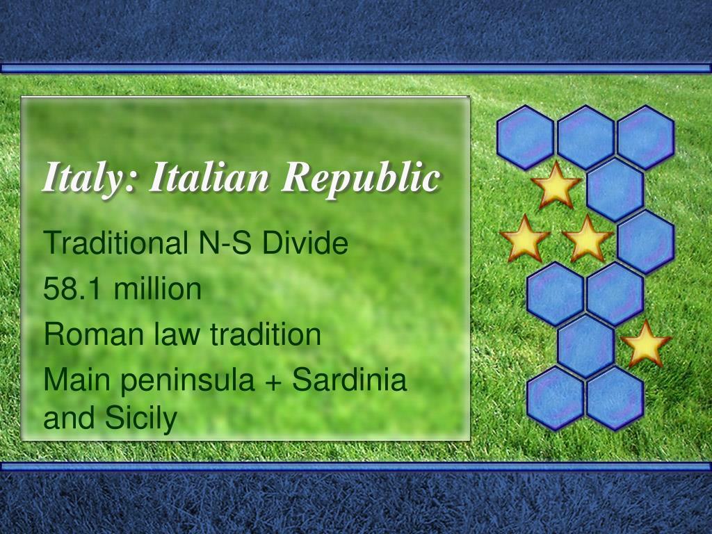 italy italian republic l.