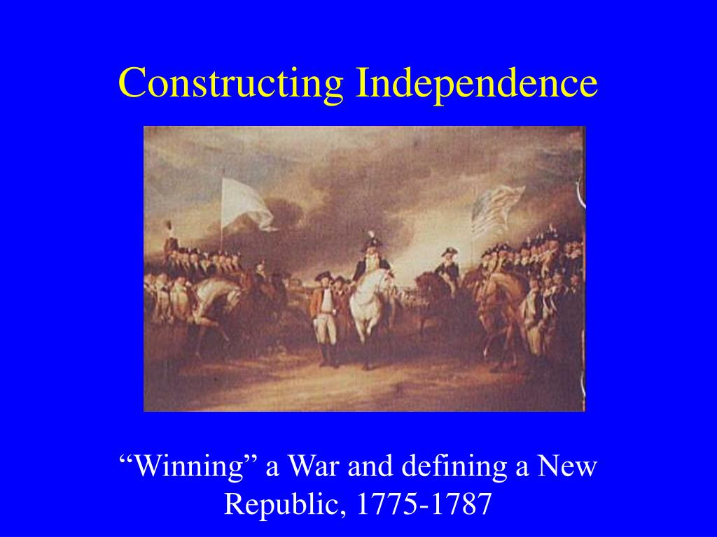 constructing independence l.