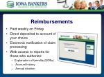 reimbursements