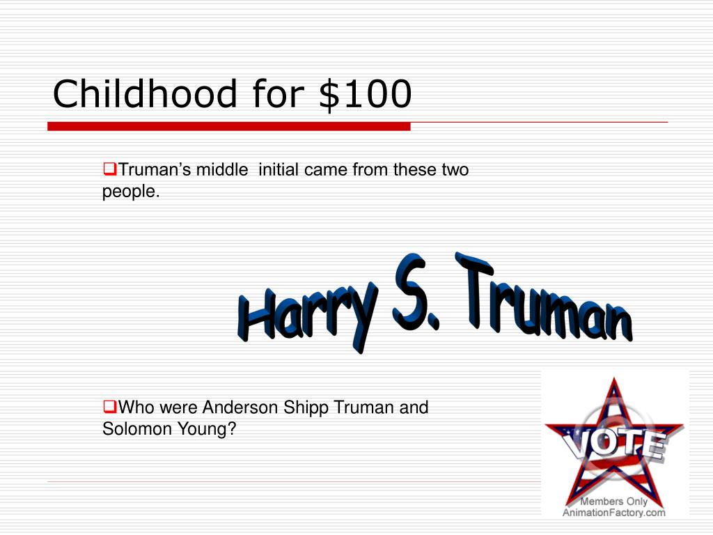 Childhood for $100