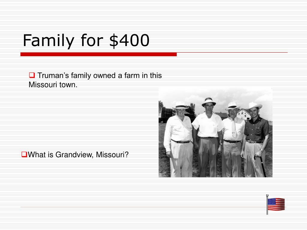 Family for $400