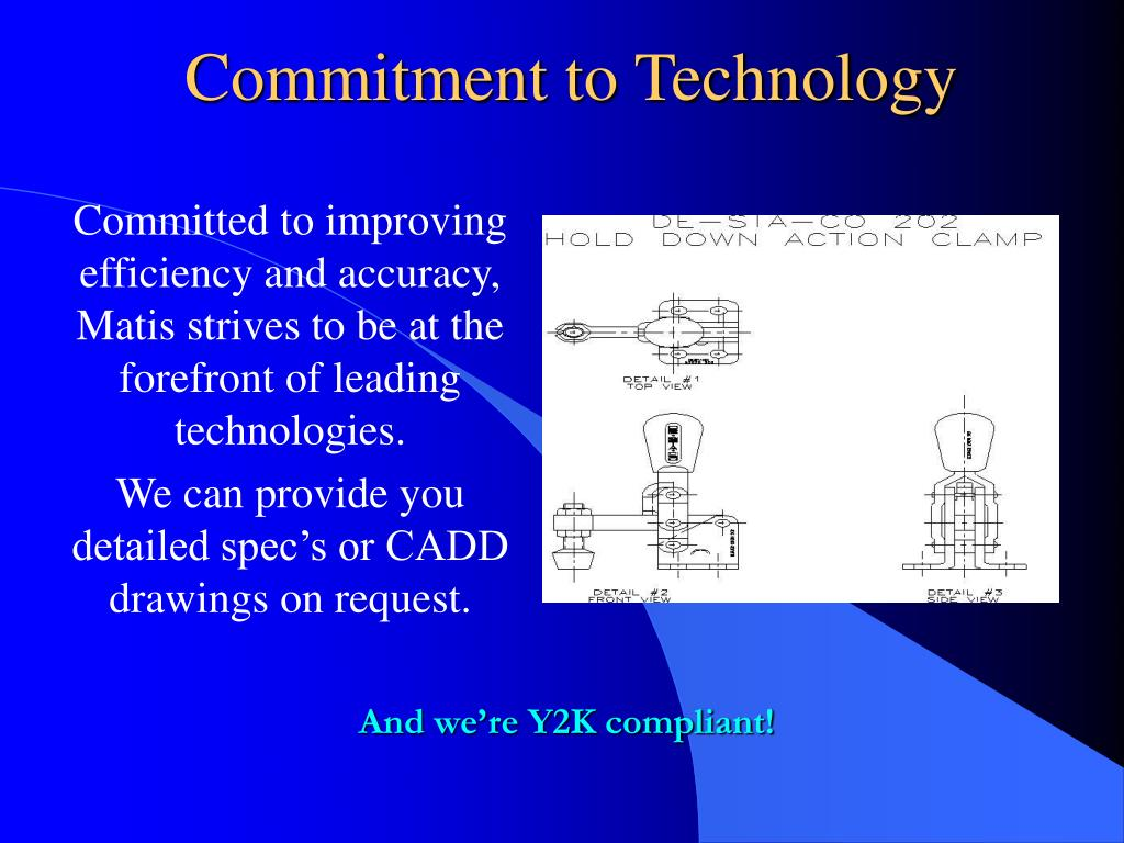 Commitment to Technology