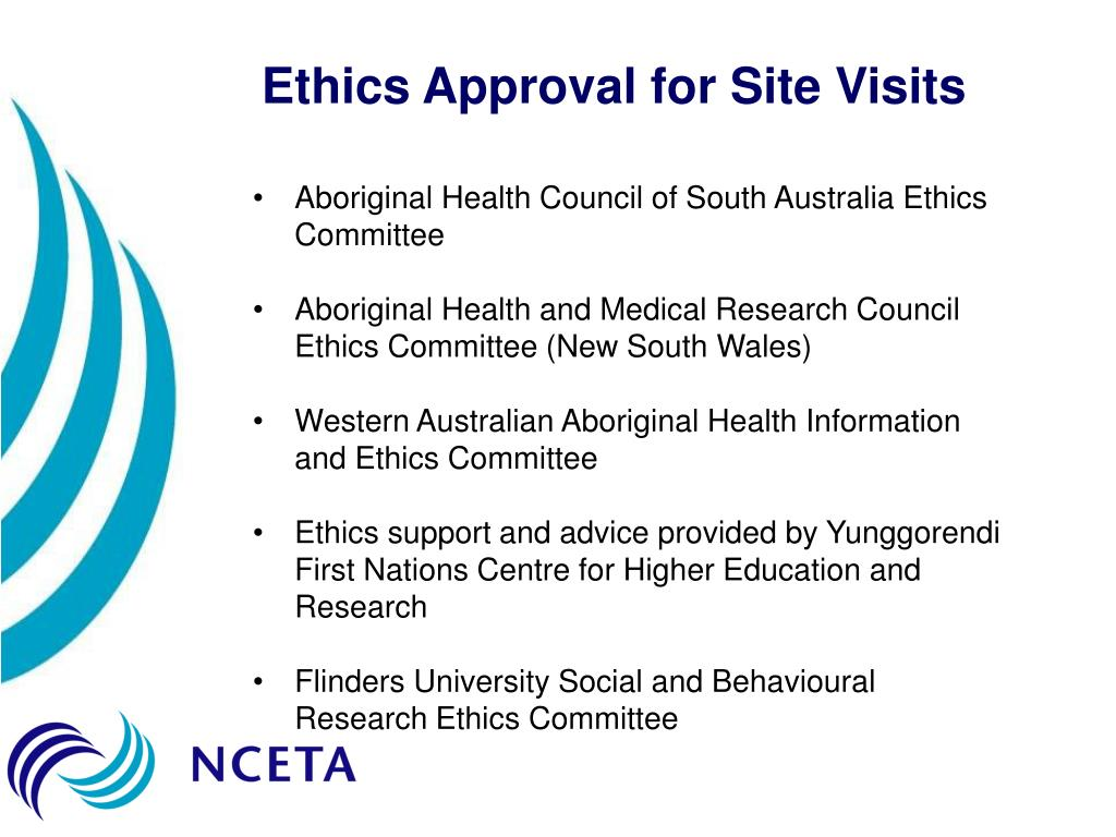 Ethics Approval for Site Visits