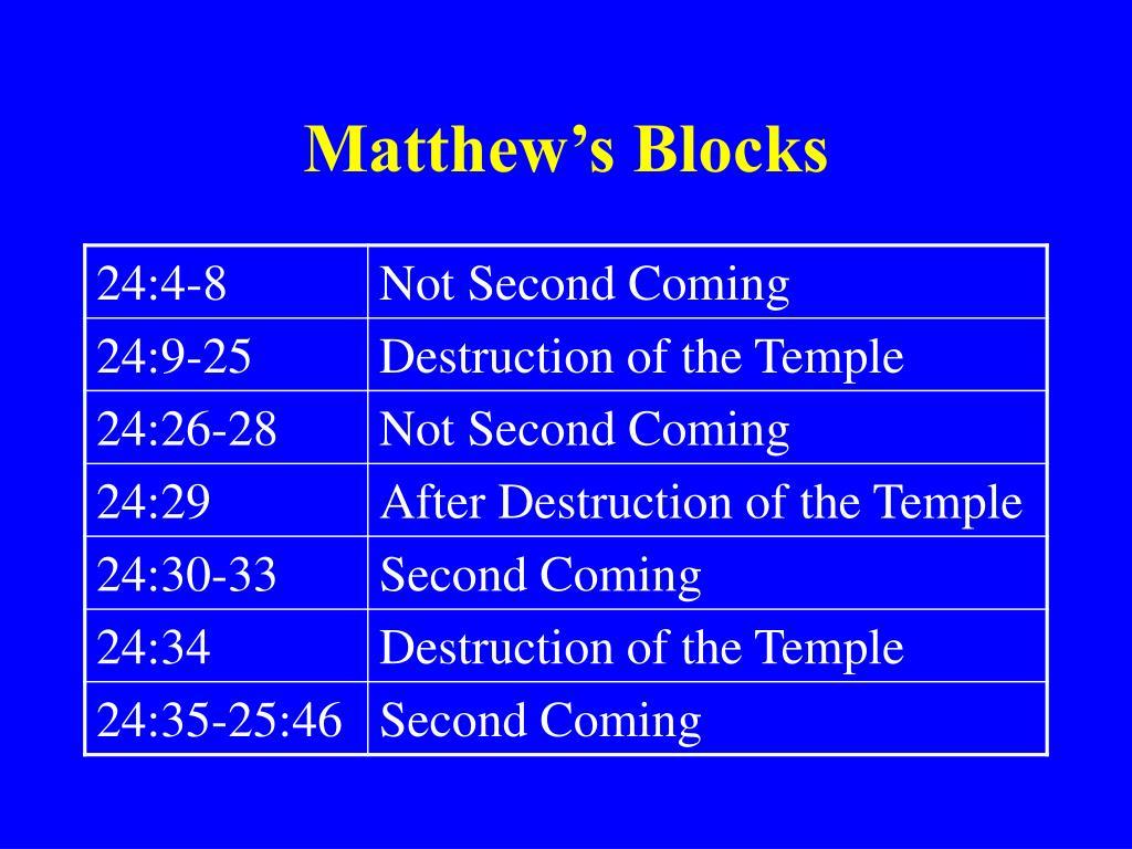Matthew's Blocks