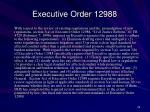 executive order 12988