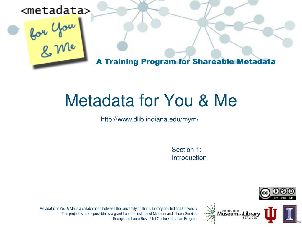 metadata for you me l.
