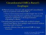 circumferential emr in barrett s esophagus