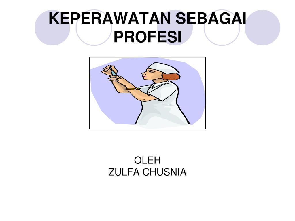 keperawatan sebagai profesi l.