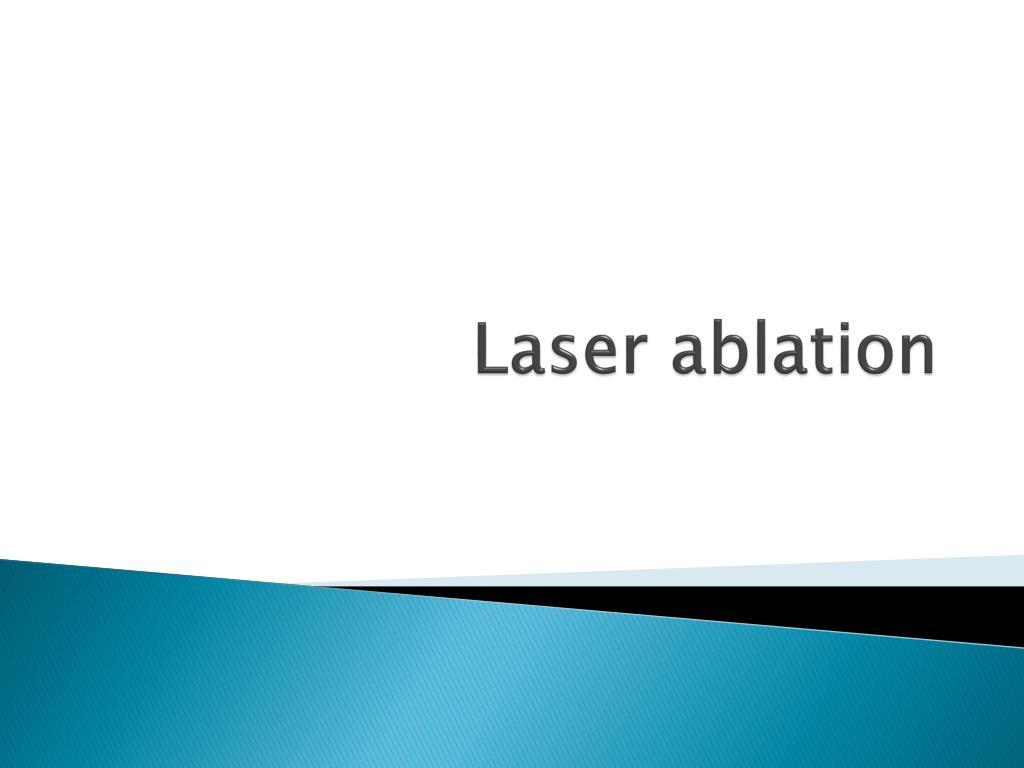 laser ablation l.