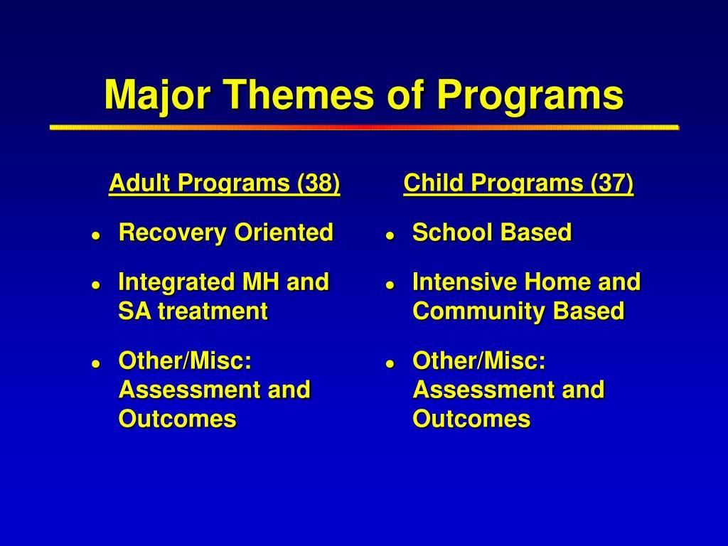 Adult Programs (38)