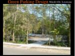 green parking design