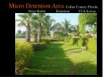 micro detention area