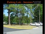 parking lots interiors