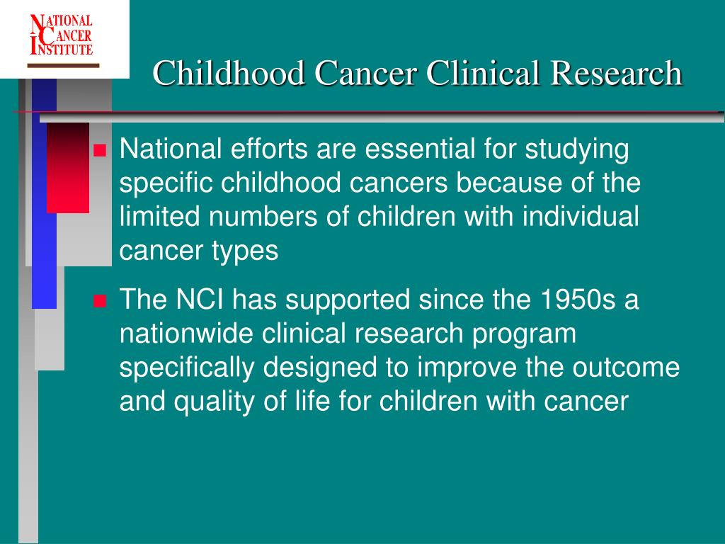 Childhood Cancer Clinical Research