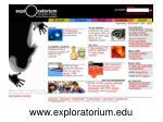 www exploratorium edu
