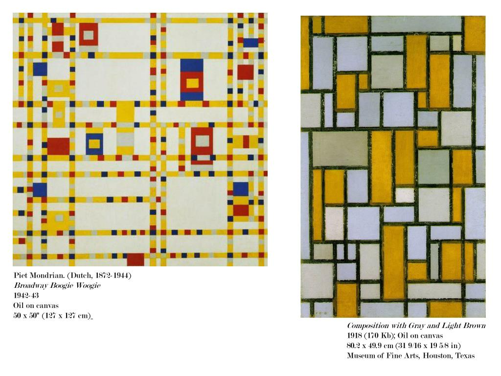 Piet Mondrian. (Dutch, 1872-1944)