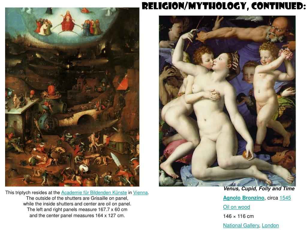 Religion/mythology, continued: