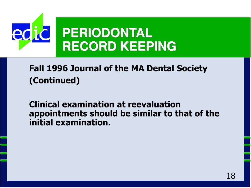 Fall 1996 Journal of the MA Dental Society