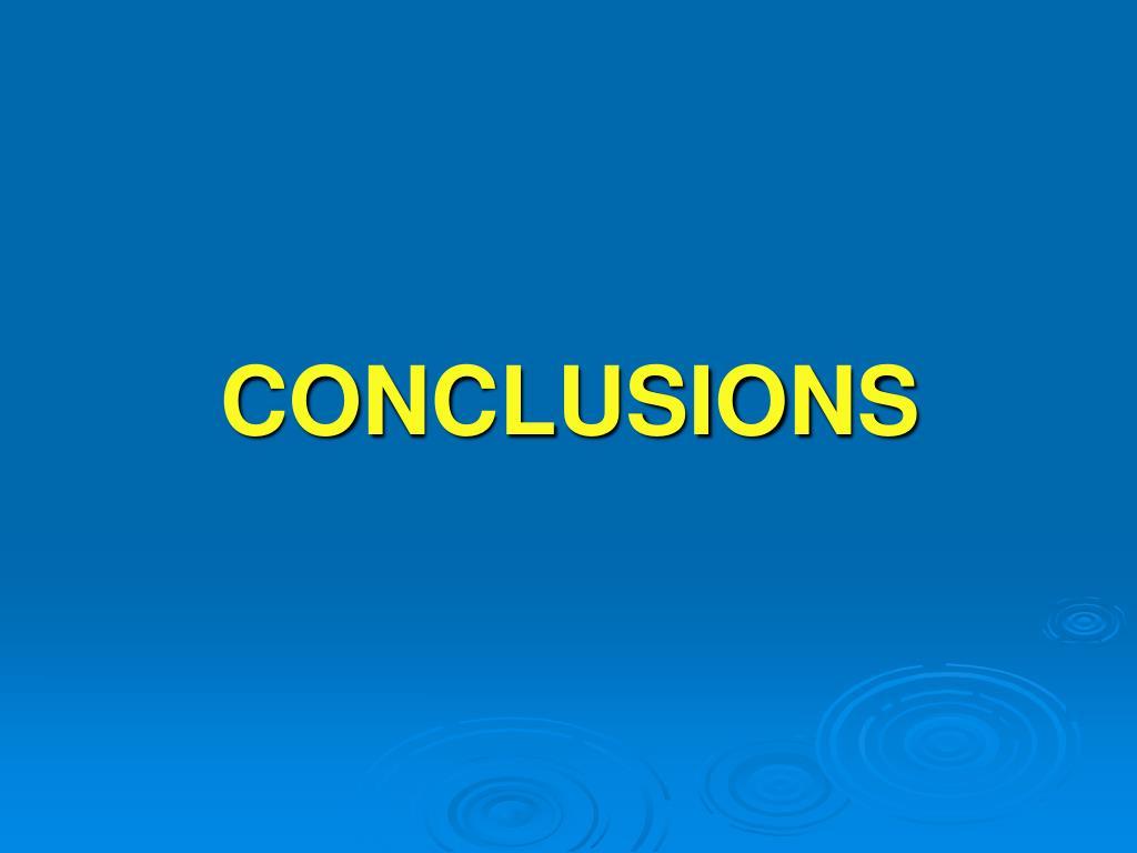 conclusions l.