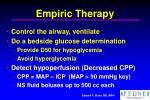 empiric therapy27