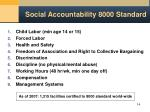 social accountability 8000 standard