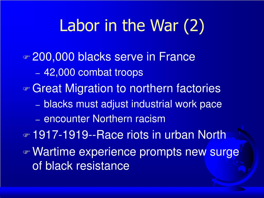 Labor in the War (2)