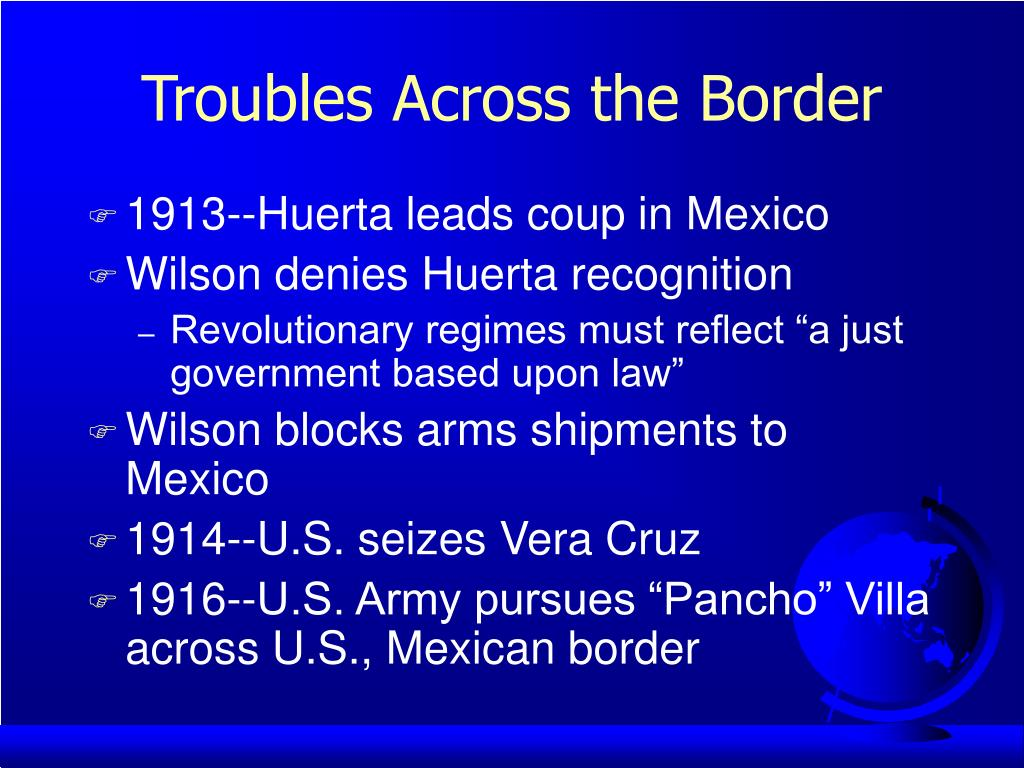 Troubles Across the Border