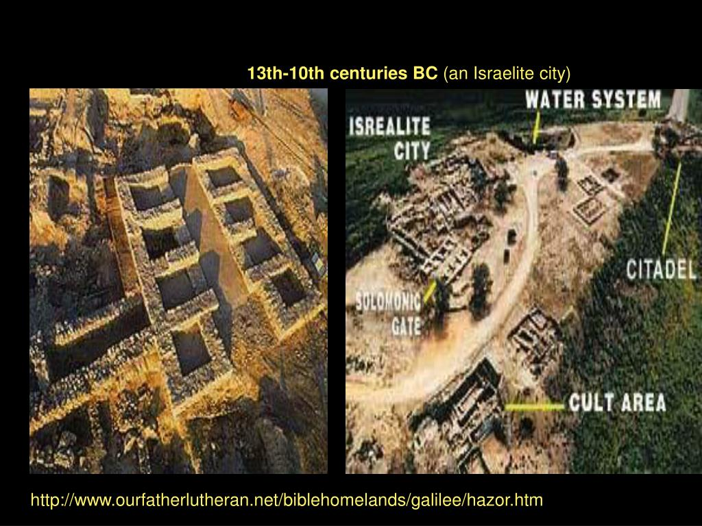 13th-10th centuries BC