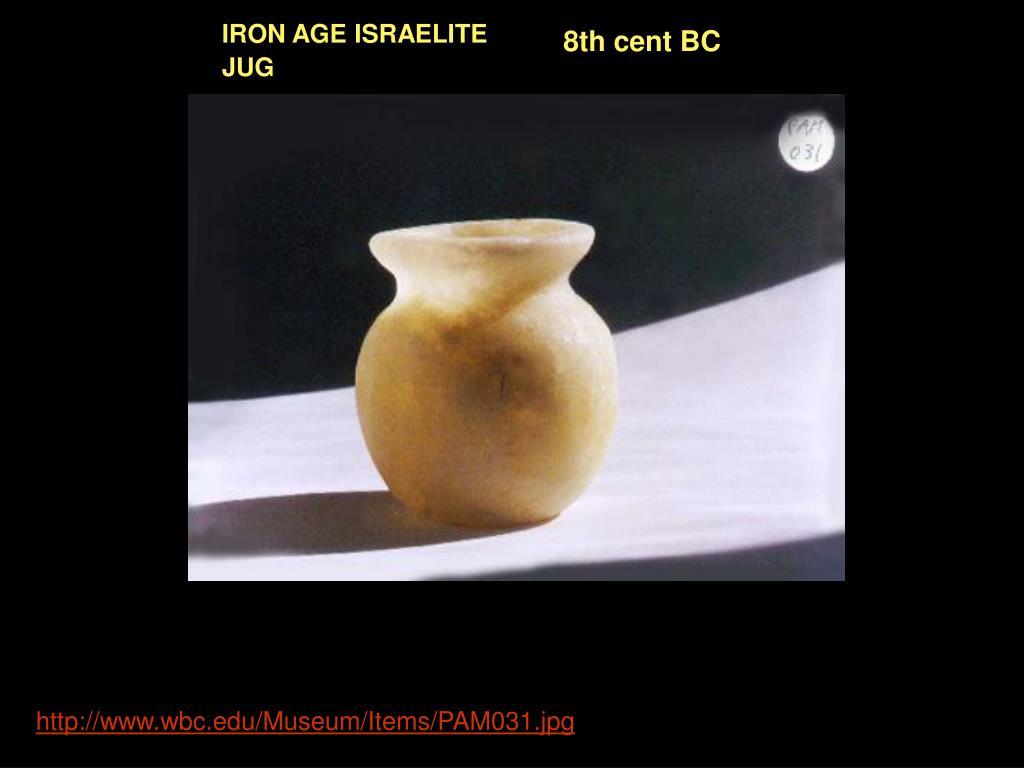 IRON AGE ISRAELITE