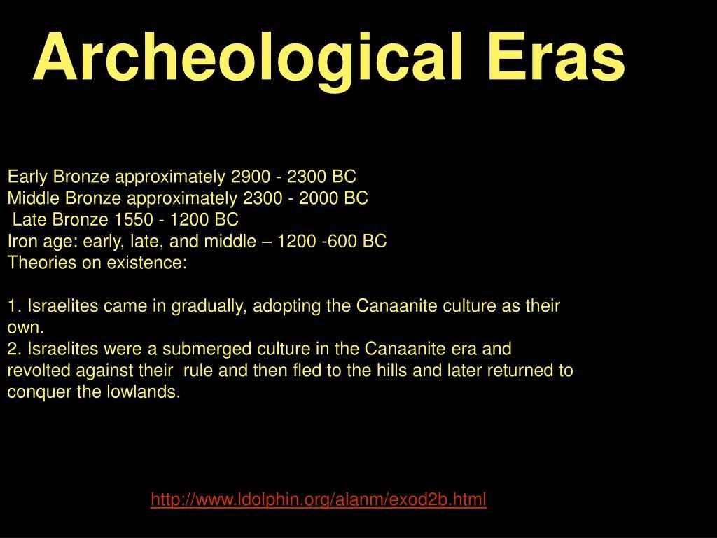 Archeological Eras