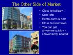 the other side of market