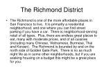 the richmond district47