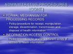 administrative procedures cont13