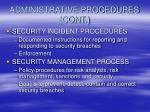 administrative procedures cont16
