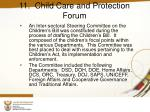 11 child care and protection forum