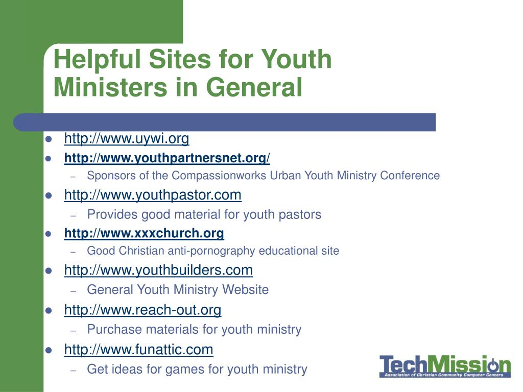 Helpful Sites for Youth