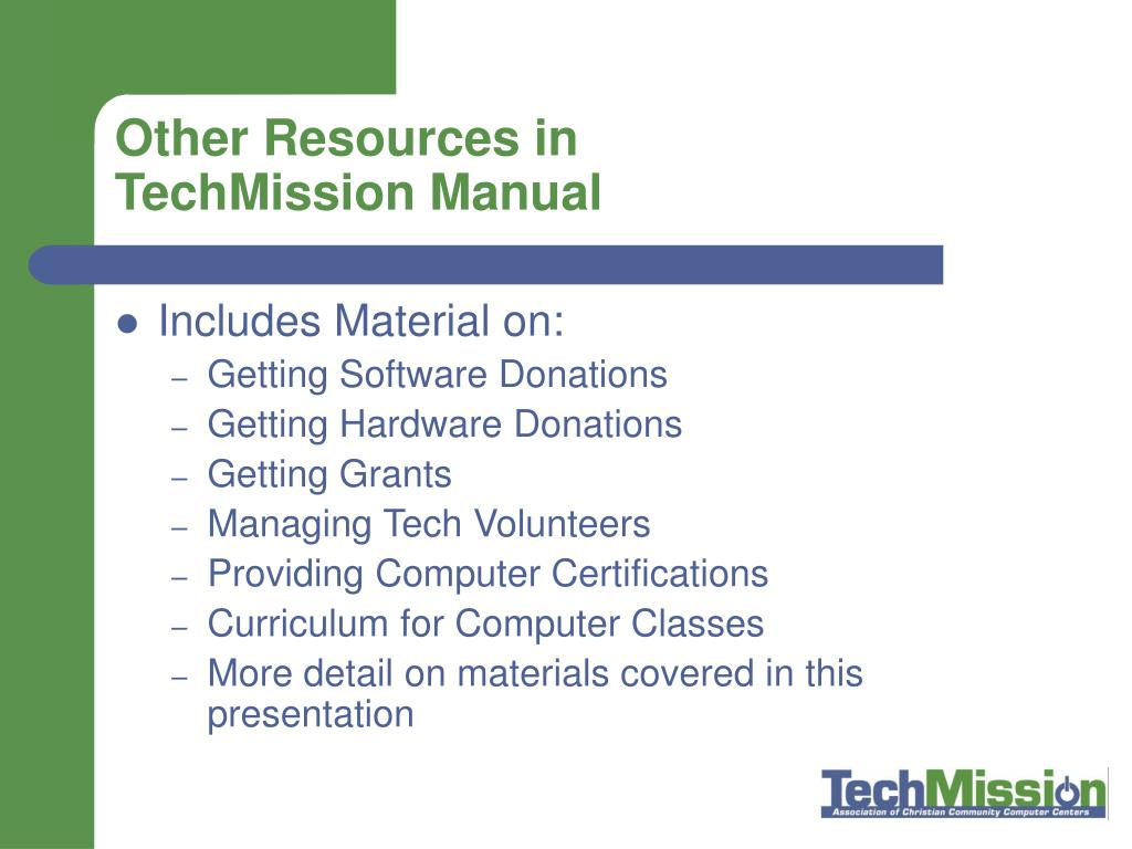 Other Resources in