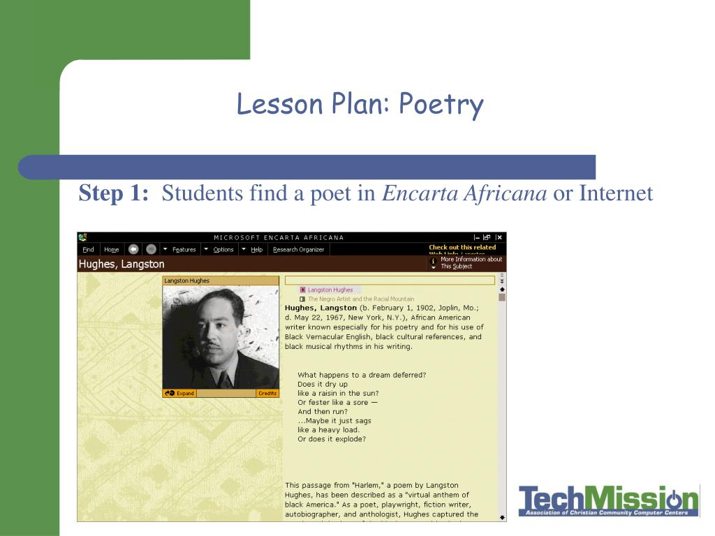 Lesson Plan: Poetry