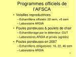 programmes officiels de l afsca12